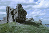 Irish Castle Ruins — Stock Photo