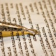 Stock Photo: Torah and Yad