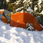Постер, плакат: Snow Camping