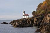 Lime Kiln Lighthouse — Stock Photo