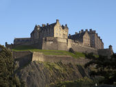 Edinburgh Castle and Ramparts — Stock Photo