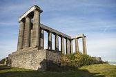 National Monument Scotland — Stock Photo