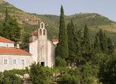 Medieval Montenegro Monastery — Stock Photo