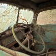 Old Truck Interior — Stock Photo
