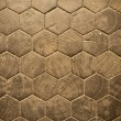 Wood Hexagon Pattern — Stock Photo #7396715
