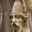Stock Photo: Saint Patrick Stone Carving