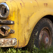 Rusting Yellow Truck Detail — Stock Photo