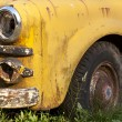 Stock Photo: Rusting Yellow Truck Detail