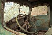 Interior de carro antiguo — Foto de Stock