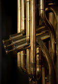 Brass Musical Instrument — Stock Photo
