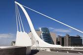 Samuel Beckett Bridge — Stock Photo