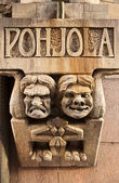 Angry Troll, Happy Troll — Stock Photo