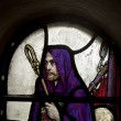 Stock Photo: Shepherd In Stained Glass