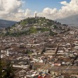 Stock Photo: Quito Viewpoint of El Panecillo