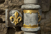 Edinburgh Castle Drainpipe Detail — Stock Photo
