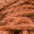 Orange Rope Background — Stock Photo