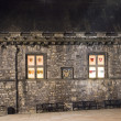 Windows of Edinburgh Castle At Night — Stock Photo #7573376