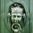 Stock Photo: Door Knocker in Paris