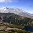 Stock Photo: Mt. St. Helens and Spirit Lake