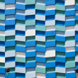 Abstract Wall Facade - Stock Photo