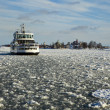 Royalty-Free Stock Photo: Ferry In Helsinki Winter