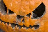 Rotten Halloween Pumpkin — Stock Photo