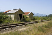 Old Railroad Station — Stock Photo