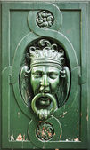 Door Knocker in Paris — Stock Photo
