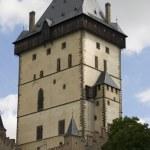 Karlstein Castle Tower — Stock Photo #7584228