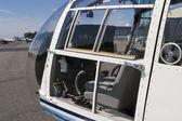 Cabina de helicóptero — Foto de Stock