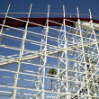 Stock Photo: Roller Coaster Structure
