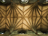 St. Giles Cathedral Ceiling — 图库照片