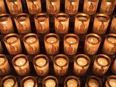 Candles At Notre Dame de Paris — Stock Photo