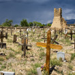 Stock Photo: Historic Taos Cemetery