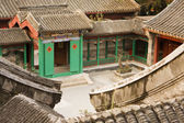 Chinese Village Courtyard — Stock Photo