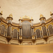 Pipe Organ In Cathedral - Foto de Stock