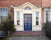 Vandalized Door In Dublin — Stock Photo