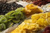Suszone owoce na sprzedaż — Zdjęcie stockowe