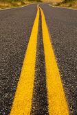 Bright Yellow Lines — Stock Photo