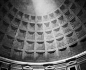 Roman Pantheon Dome With Light — Stock Photo