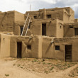 Stock Photo: Historic Pueblo Building