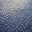Cobblestone Pattern With Light — Stock Photo