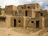 Historic Pueblo Building — Fotografia Stock
