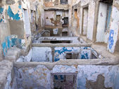 Ruins Of Apartment Building — Stock Photo