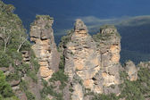 Three Sisters Rock Formation — Stock Photo