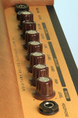 Dials on a guitar amp — Stock Photo