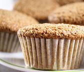 Freshly Baked Bran Muffins — Stock Photo