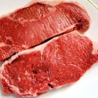 图库照片: Sirloin Steaks