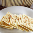 Soda Crackers — Stock Photo