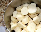 Potatoes In Cooking Pot — Stock Photo